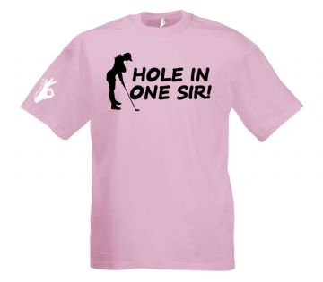 Hole in One Sir T-Shirt Simply Loveleh Brotherhood
